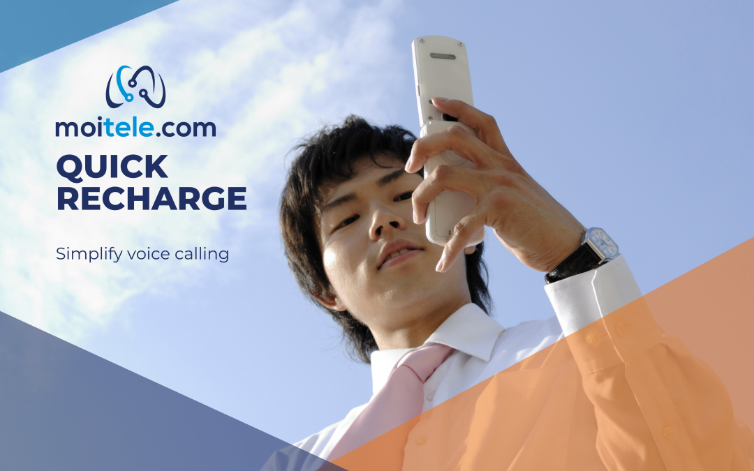 Quick recharge that simplifies VoIP calling