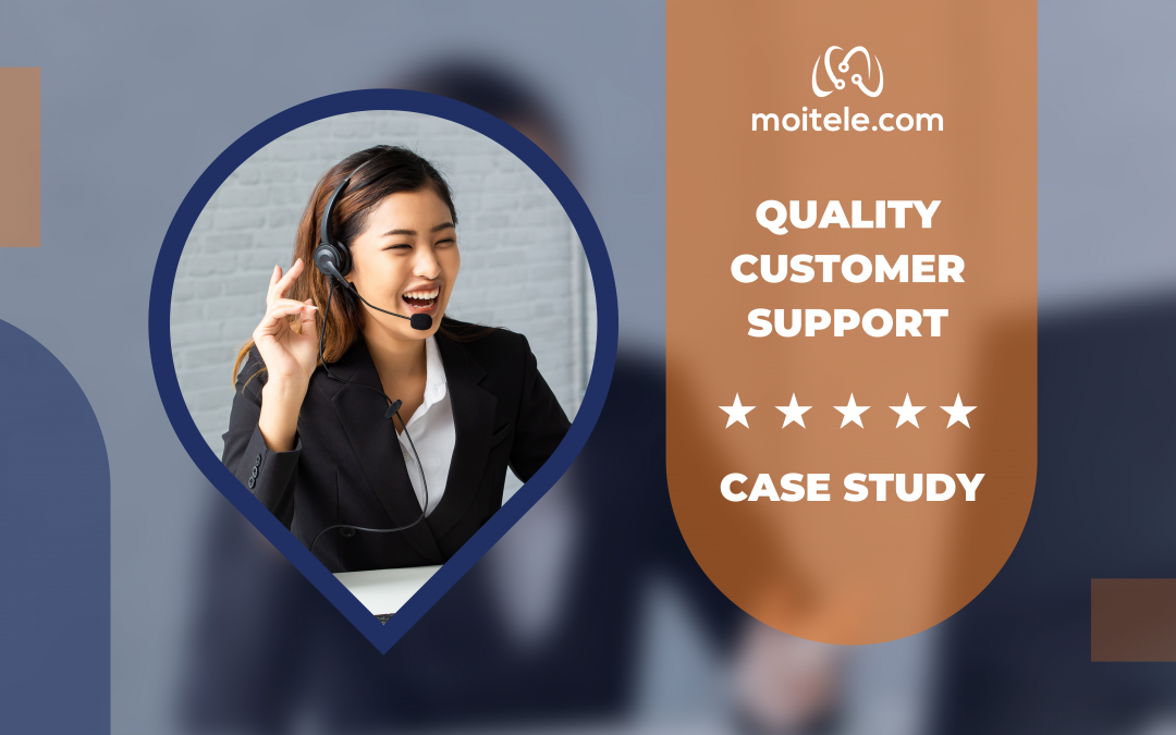 Quality support to improve sales team operations